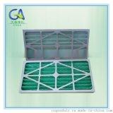 江苏苏州 初效纸框空气过滤网 棉+护网折叠板式过滤器