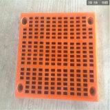 高耐磨矿用聚氨酯筛网/聚氨酯脱水筛板/型号齐全
