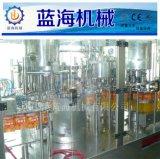 果汁颗粒饮料全自动三合一灌装机生产流水线设备