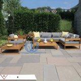 户外花园防腐实木休闲沙发茶几组合 别墅花园沙发