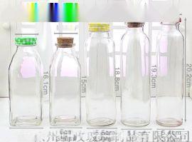 桂花酸梅汤饮料瓶玻璃瓶 300ml