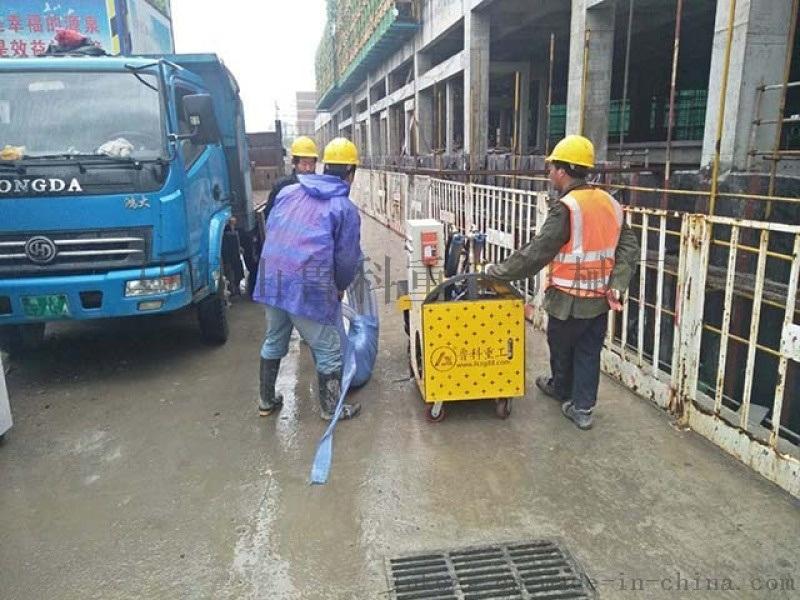 鲁科重工|卧式二次构造柱泵操作|维修保养