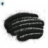 金属制品喷砂用200目黑刚玉微粉,人造磨料黑刚玉