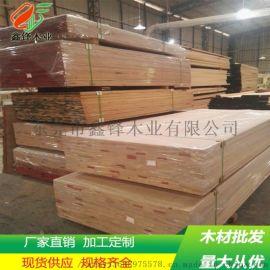实木板橡胶指接板橡胶木家具指接板厂家生产环保