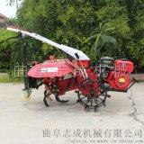 柴油四驱后悬式微耕机大棚种植专用开沟机