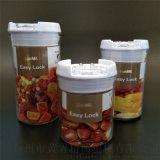 Ps圓形罐高透明方形易扣罐