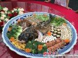景德镇青花大盘 一米大盘子 海鲜鱼盘厂家