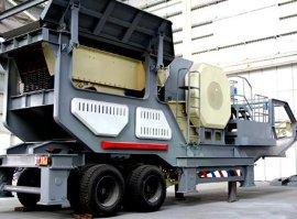 移动式破碎站设备、建筑垃圾粉碎设备车供应