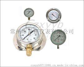 耐震压力表,YN系列耐震压力表,耐震充油压力表,YN-75耐震压力表,YN-100不锈钢耐震压力表