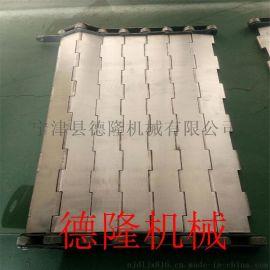 德隆DL-PJ1002不锈钢链板 输送机输送带