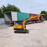 街道绿化种树挖掘机 小型装载机