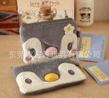 定做绳可爱卡通小熊毛绒零钱包 开发创意新款动物头玩具促销