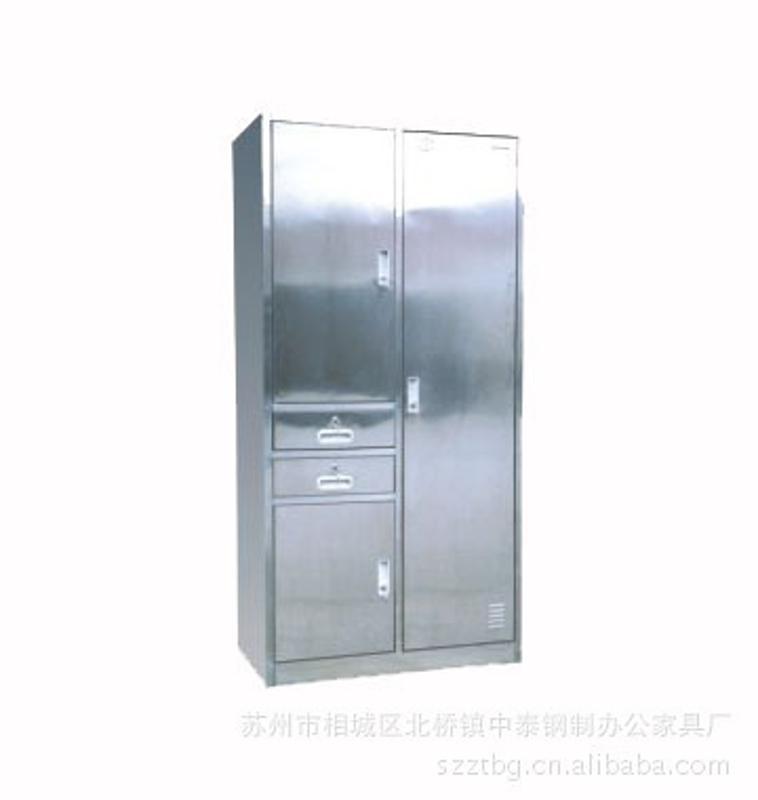 榆林不锈钢双开门柜子/榆林铁板来料加工/出厂价格