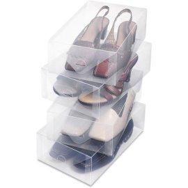 PP透明水晶鞋盒