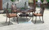 鑄鋁桌椅戶外露天燒烤專用桌椅鋁藝陽臺桌椅套餐