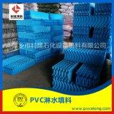 冷却塔PVC淋水填料 塑料聚氯乙烯S波淋水填料