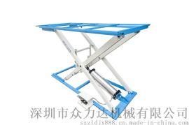 增強型氣動升降工作臺 沙發生產廠必備