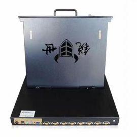 锐世CS-2932 19寸32口折叠液晶显示器