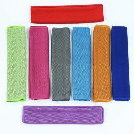 速干吸水冷感巾男女成人户外健身跑步瑜伽夏季降温擦汗运动冰凉巾