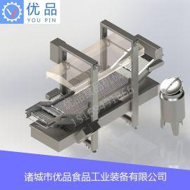 厂家生产薄脆机 炸薄脆生产流水线