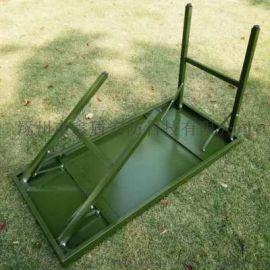 福建 户外军绿色折叠桌