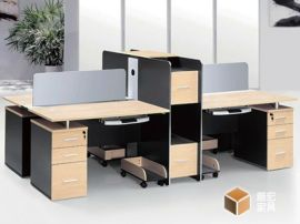 职员办公桌电脑桌椅组合工作位屏风隔断