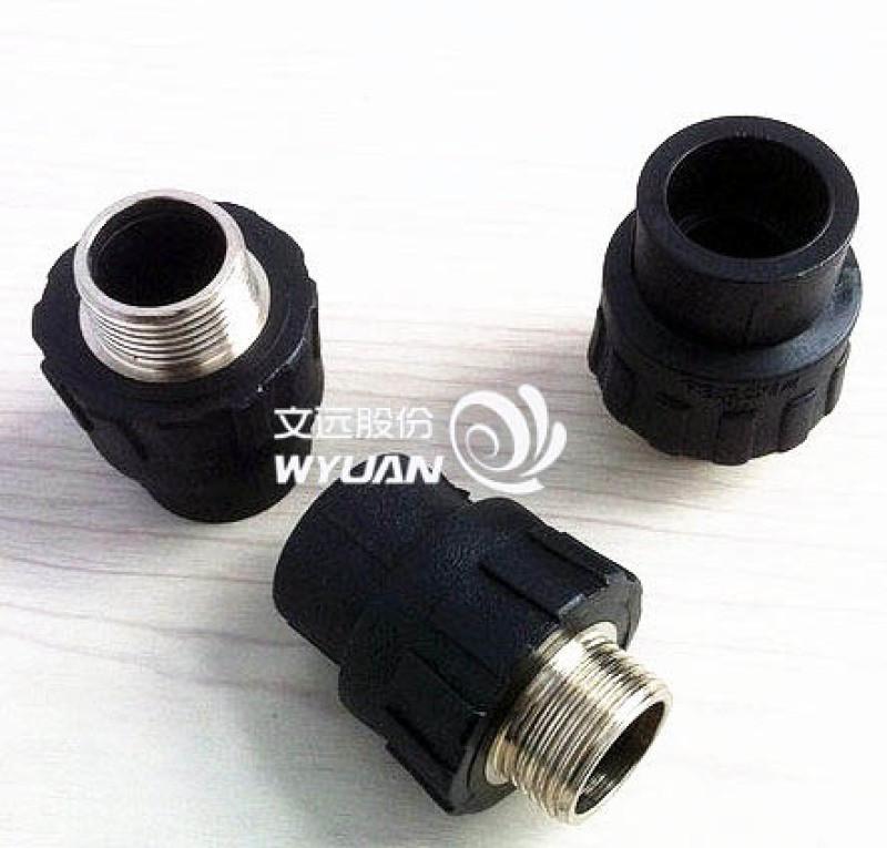 淄博pe管件的厂家_常用给水热熔对接承插管件