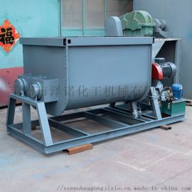 4000升电加热卧式螺带混合机 搅拌罐