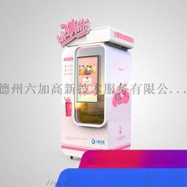 游乐场怎样轻松挣钱?全自动冰激凌售货机