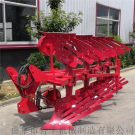 柳州30马力拖拉机带耕地液压翻转犁