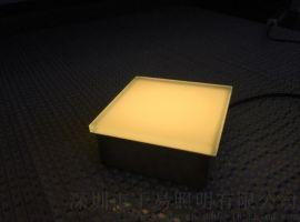 地面砖_LED玻璃发光砖 玻璃砖厂家