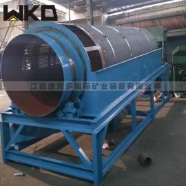 直銷廣東篩沙機 圓桶篩 滾筒式篩分機定制
