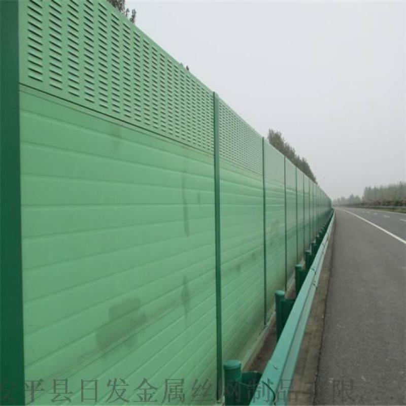 道路声屏障制造厂商 镀锌板百叶声屏障