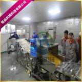 網帶式帶魚上糠機 實力廠家推薦帶魚上漿上糠生產線