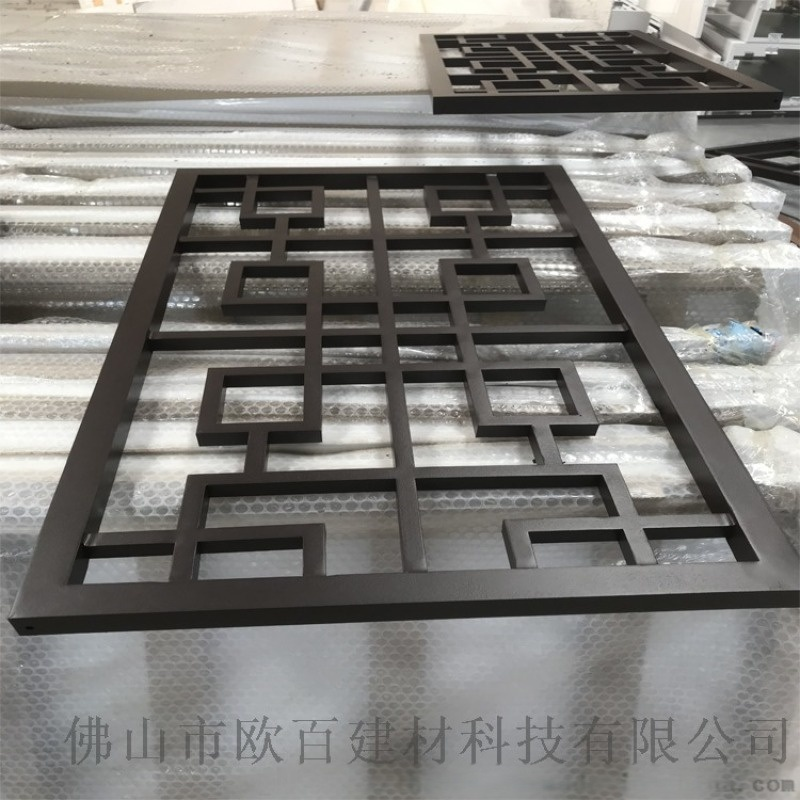 供應古建築用鋁窗花 仿古鋁窗花 型材焊接鋁窗花