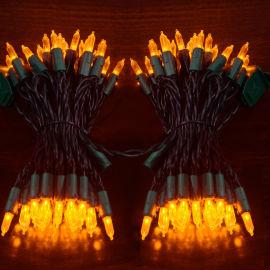 霓虹王LED灯串M5暖白彩UL认证圣诞装饰灯