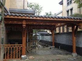 四川仿古门窗成都木雕厂中式挂落博古架厂家
