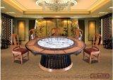 特价实木电动餐桌酒店家用组合餐桌椅防腐零甲醛环保防虫蛀