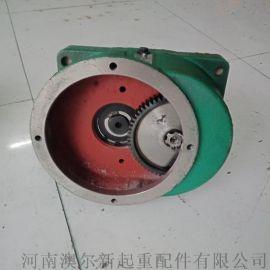 LD单梁减速机  大口变速箱  卧式端梁变速箱
