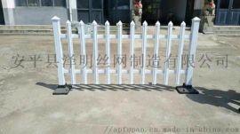 河南pvc草坪护栏-塑钢护栏-草坪栏杆厂家