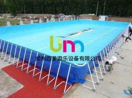大型支架水池—戶外快速搭建兒童移動水上歡樂園