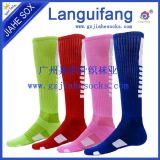 运动足球袜足球训练袜男女运动袜子吸汗白黑黄绿红蓝色舞蹈袜