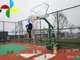 長沙比賽專用籃球場施工/開福學校籃球場建設工廠