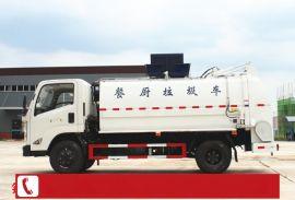 浙江金华餐厨垃圾收集运输车厂家参数图片