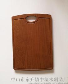 实力工厂加工定制沙比利实木砧板菜板案板