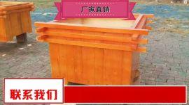 户外防腐木花箱沧州奥   器材 优惠销售室外花箱