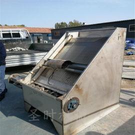 养猪场粪便干湿分离机猪粪脱水机斜筛式固液分离机
