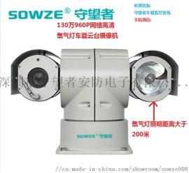 车载云台摄像机130万网络高清氙气灯车载云台摄像机