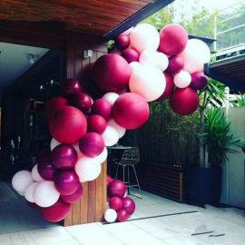昆明花語花香氣球布置氣球裝飾氣球造型氣球布場