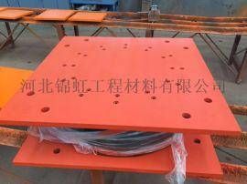 HDR800圆形高阻尼橡胶支座 氯丁橡胶高阻尼支座
